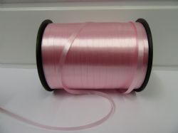 2 metres or full roll 5mm Light Baby Pink Curling Florist Balloon Ribbon Double sided 5mm